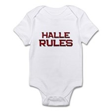 halle rules Infant Bodysuit