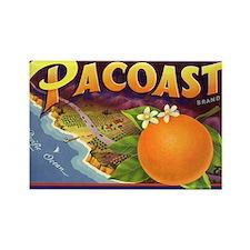 Vintage Fruit Crate Label Rectangle Magnet (10 pac