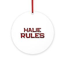 halie rules Ornament (Round)