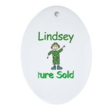 Lindsey - Future Soldier Oval Ornament