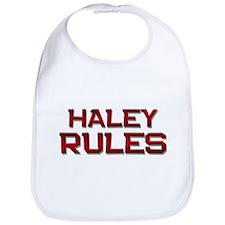 haley rules Bib