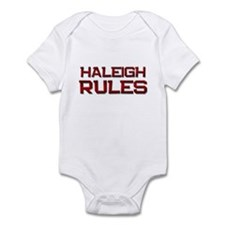 haleigh rules Infant Bodysuit
