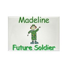 Madeline - Future Soldier Rectangle Magnet
