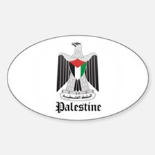 Palestinian Coat of Arms Seal Oval Decal