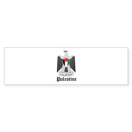 Palestinian Coat of Arms Seal Bumper Sticker