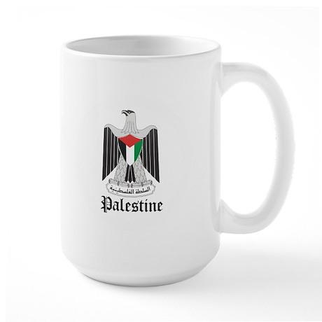 Palestinian Coat of Arms Seal Large Mug