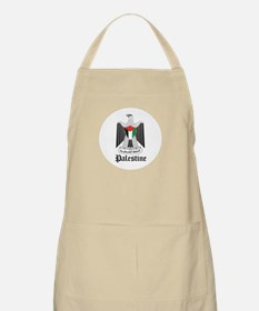 Palestinian Coat of Arms Seal BBQ Apron