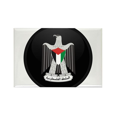 Coat of Arms of Palestine Rectangle Magnet