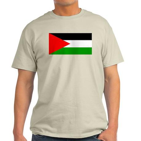 Palestine Flag Light T-Shirt