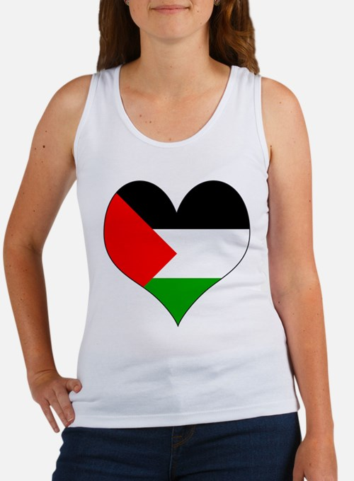 I Love Palestine Women's Tank Top