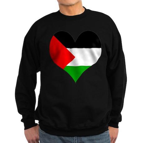 I Love Palestine Sweatshirt (dark)