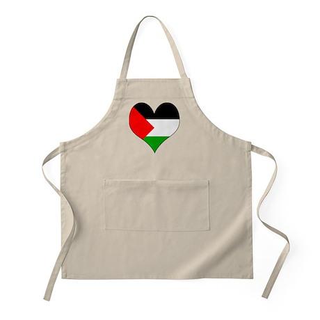 I Love Palestine BBQ Apron