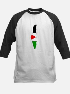 Palestine Flag Map Tee