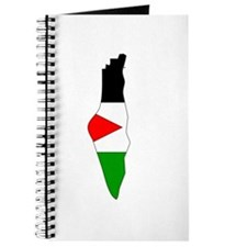 Palestine Flag Map Journal