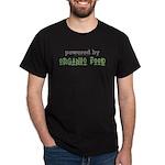Powered By Organic Food Dark T-Shirt