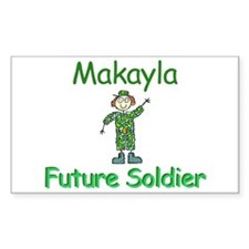 Makayla - Future Soldier Rectangle Decal