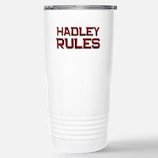 hadley rules Stainless Steel Travel Mug
