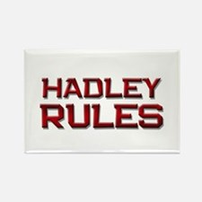 hadley rules Rectangle Magnet