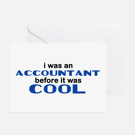 Accountant Before Cool Greeting Cards (Pk of 10)