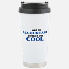 Accountant Before Cool Stainless Steel Travel Mug