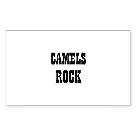 CAMELS ROCK Rectangle Sticker