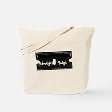 Straight Edge -Razor Tote Bag
