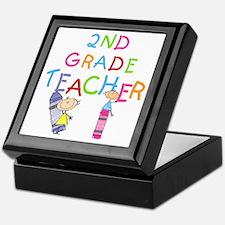 2nd Grade Teacher Keepsake Box