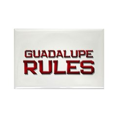guadalupe rules Rectangle Magnet (10 pack)