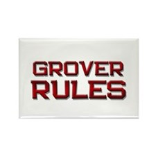 grover rules Rectangle Magnet (10 pack)