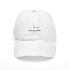 I'm training to be a Sports Psychologist Baseball Cap