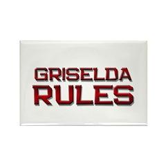 griselda rules Rectangle Magnet