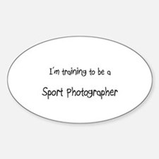 I'm training to be a Sport Photographer Decal