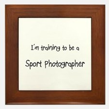 I'm training to be a Sport Photographer Framed Til