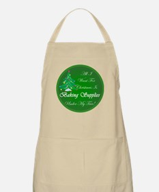 Christmas Tree Baking BBQ Apron