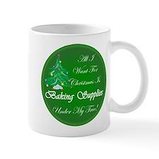 Christmas Tree Baking Mug