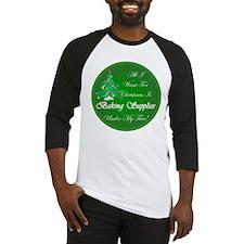 Christmas Tree Baking Baseball Jersey
