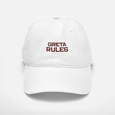 greta rules Baseball Baseball Cap