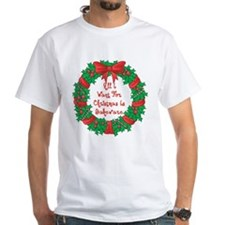 Wreath Baking Christmas Shirt