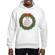 Wreath Baking Christmas Hoodie