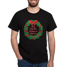 Wreath Baking Christmas T-Shirt