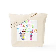 Crayons 3rd Grade Tote Bag