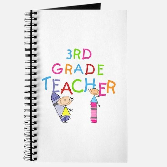 Crayons 3rd Grade Journal