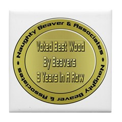 Voted Best Wood! Tile Coaster