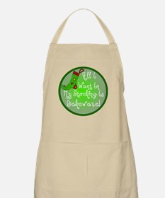 Stocking Baking Christmas BBQ Apron