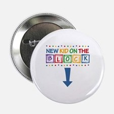 """New Kid on the Block Mom 2.25"""" Button"""