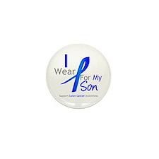 Colon Cancer Son Mini Button (10 pack)