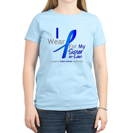 ColonCancer Sister-in-Law Women's Light T-Shirt