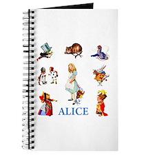 ALICE & FRIENDS IN WONDERLAND Journal