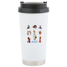 ALICE & FRIENDS IN WONDERLAND Travel Mug