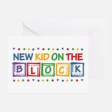 New Kid on the Block Greeting Card